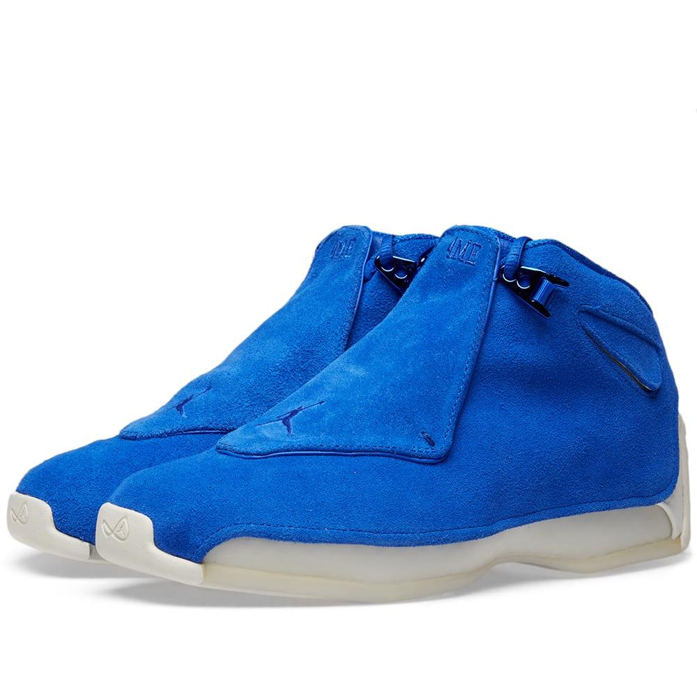sports shoes 23283 43245 Nike Air Jordan 18 Retro In Blue