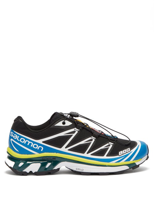 finest selection 97f4a c2844 Salomon Black   Blue S Lab Xt-6 Softground Adv Sneakers