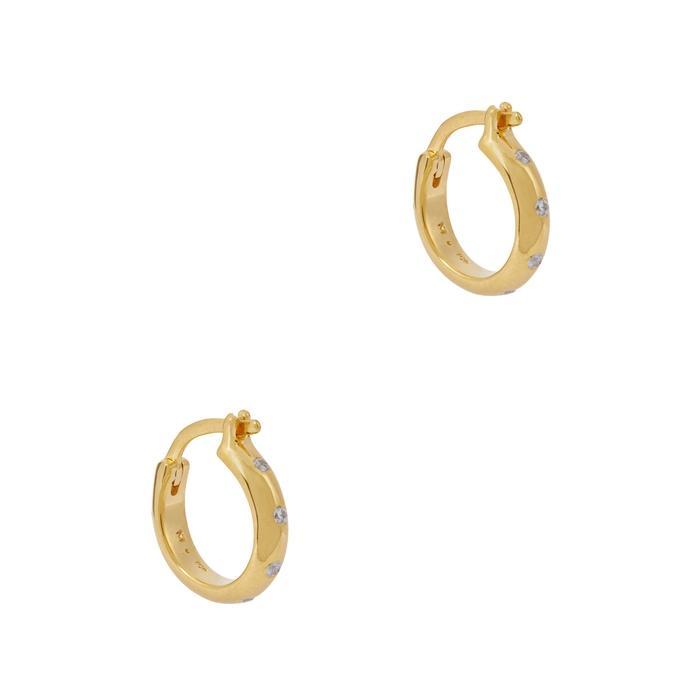 Missoma Solar 18Kt Gold Vermeil Hoop Earrings
