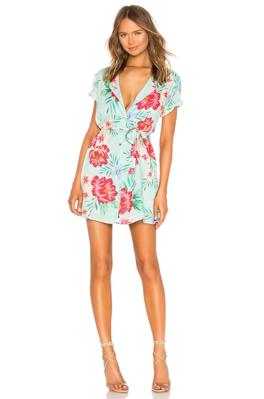 2f418656778f Privacy Please Encinitas Mini Dress In Blue. In Blue Aleissa Floral