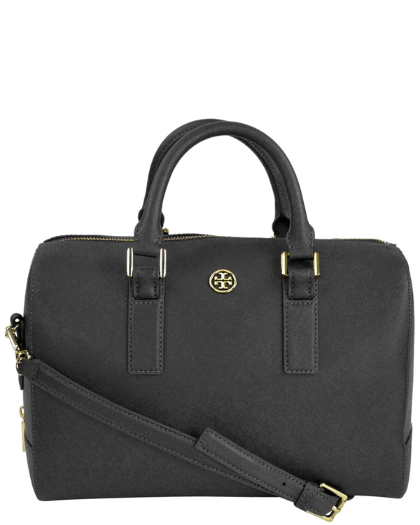 Tory Burch Women's Robinson Leather Satchel In Nocolor