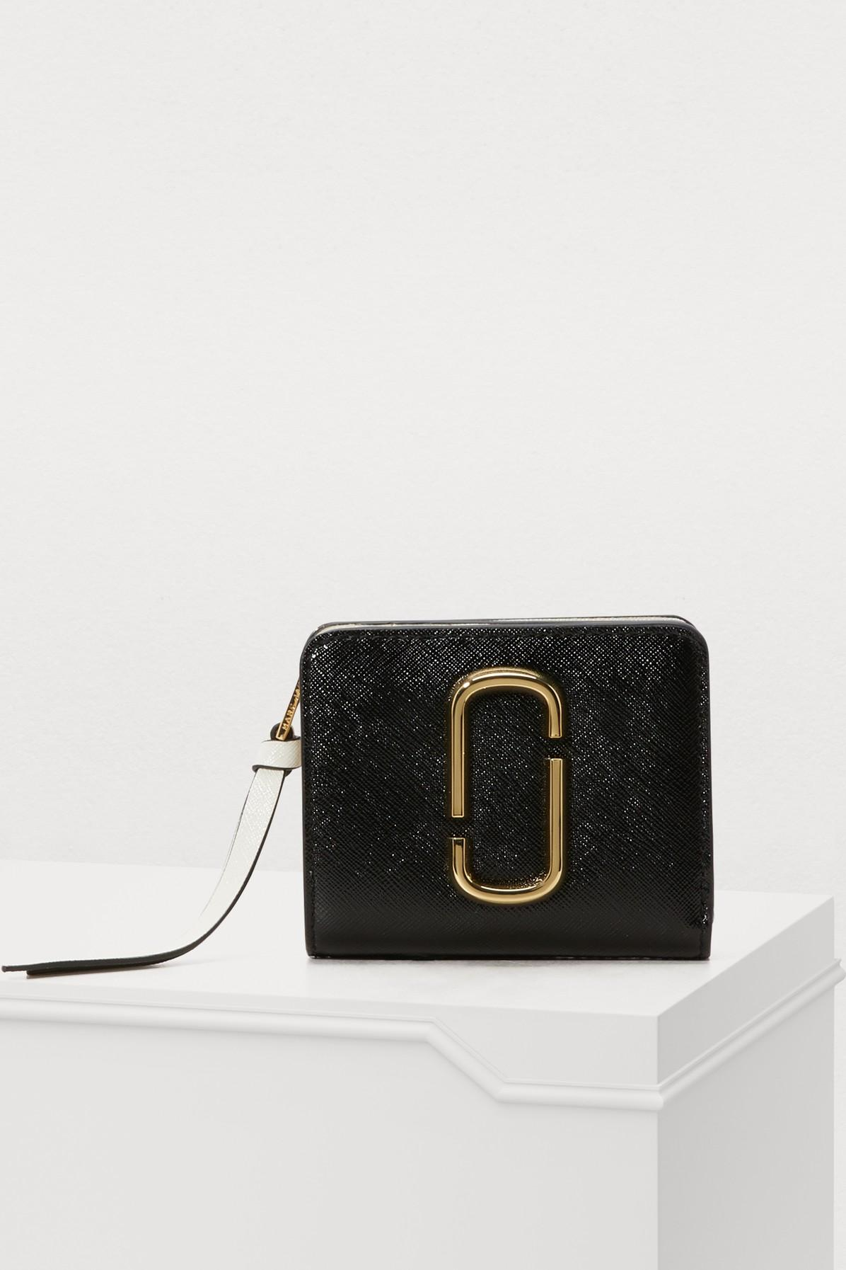 "Marc Jacobs Mini Compact"" Purse"" In Black & Multi"