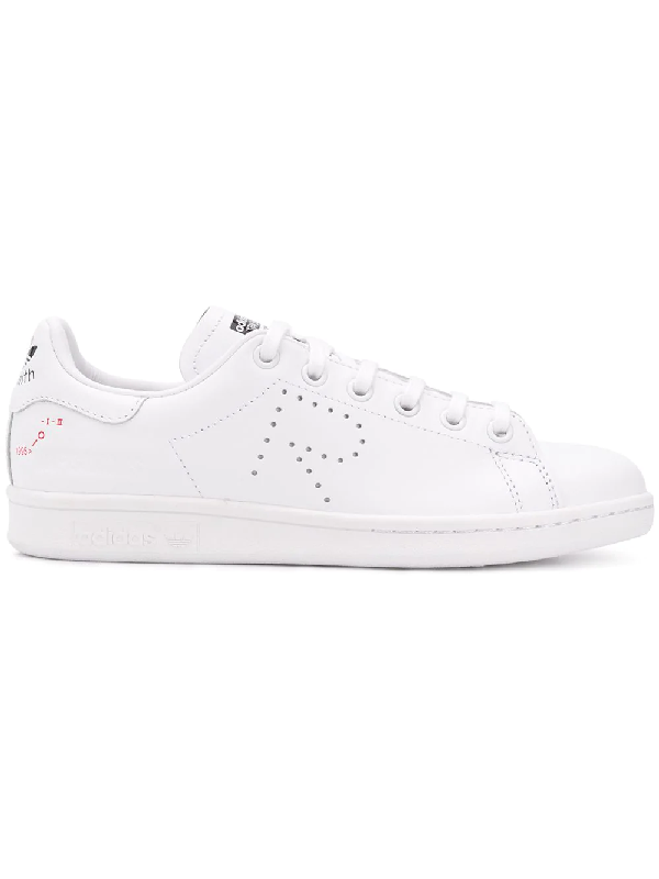 539d434680e8 Adidas By Raf Simons Raf Simons For Adidas Women s Stan Smith Leather Lace-Up  Sneakers