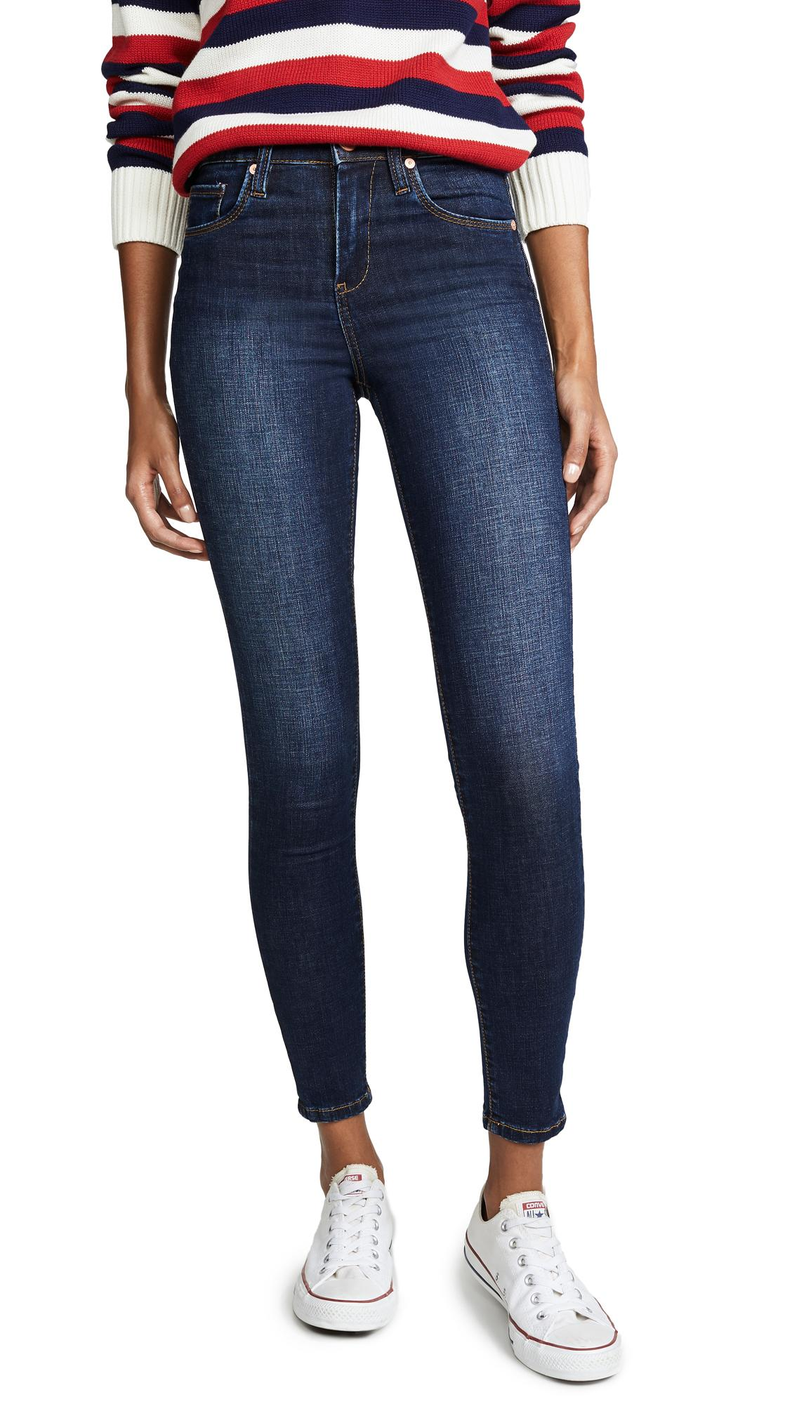 Blank Denim The Great Jones High Rise Skinny Jeans In The Misfit Wash