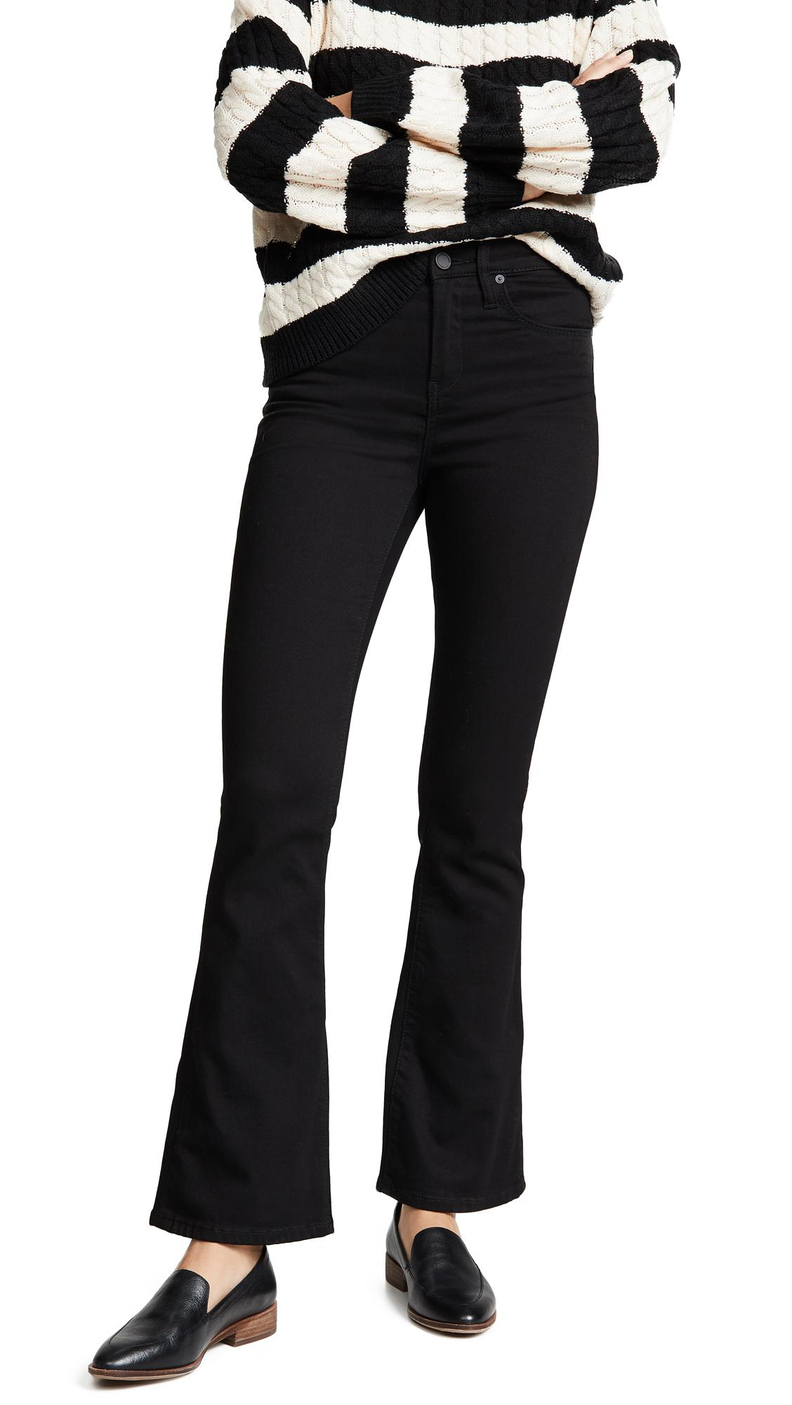 Blank Denim The Waverly High Rise Flare Jeans In The Gotham Wash