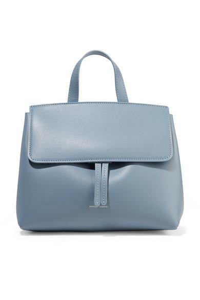 539f1775c Mansur Gavriel Mini Mini Lady Leather Tote In Light Blue | ModeSens
