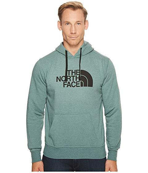 105e6414a The North Face Half Dome Hoodie, Burnt Olive Green Heather/Vintage ...