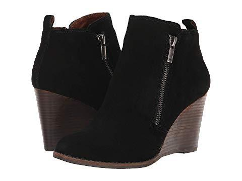 a982367d00a53 Lucky Brand Yahir Wedge Bootie In Black