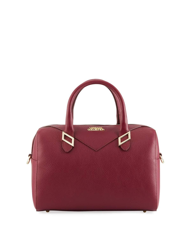 Versace Pebbled Leather Satchel Bag 8574b6397242b