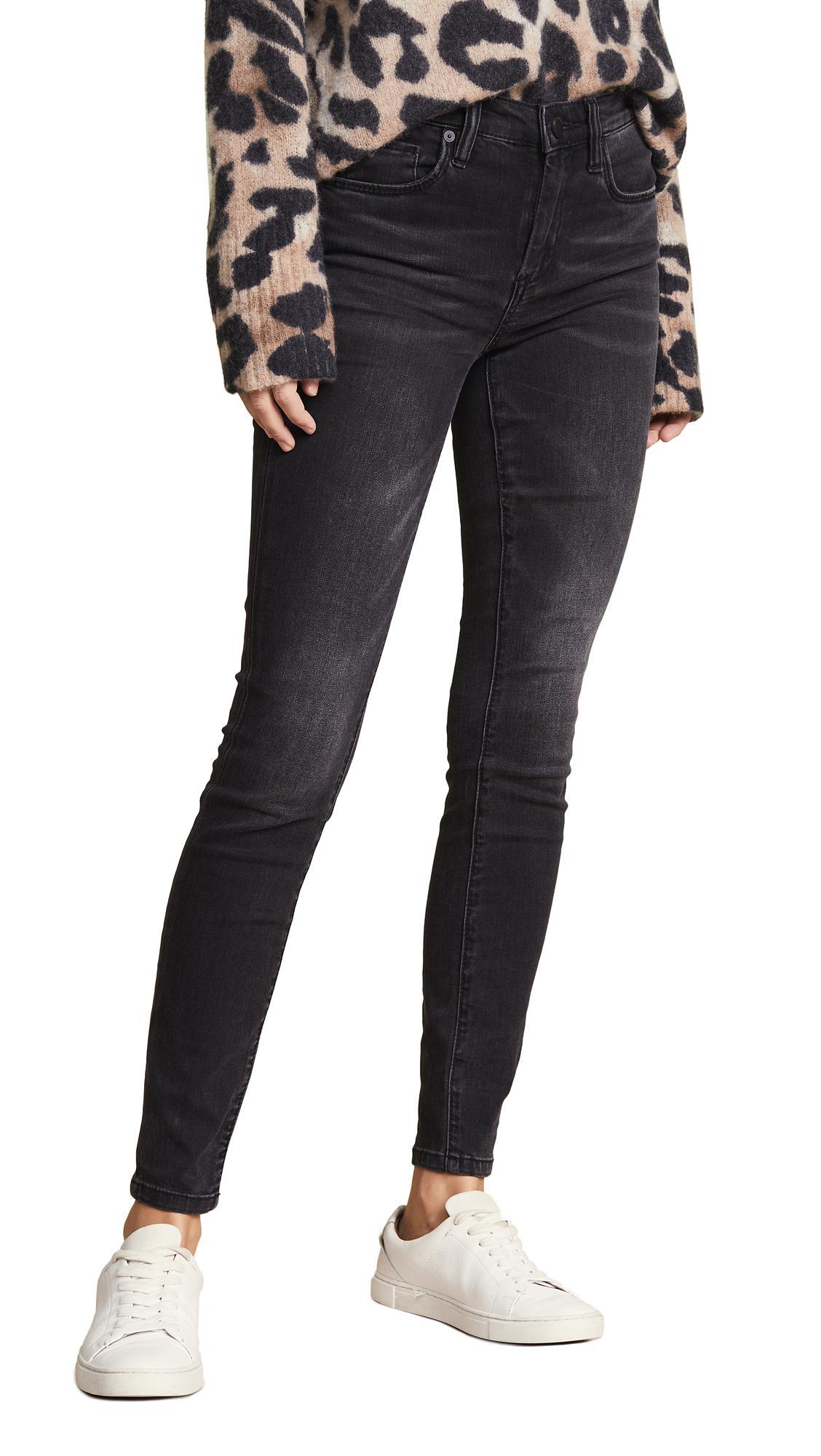 Blank Denim The Bond Mid Rise Skinny Jeans In 0 Dark 30