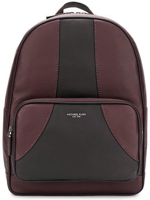 1640fb0b7080 Michael Kors Bryant Medium Backpack - Red | ModeSens