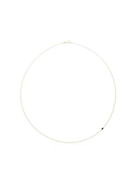 Lizzie Mandler Fine Jewelry 18kt Gelbgoldhalskette Mit Diamanten In Black