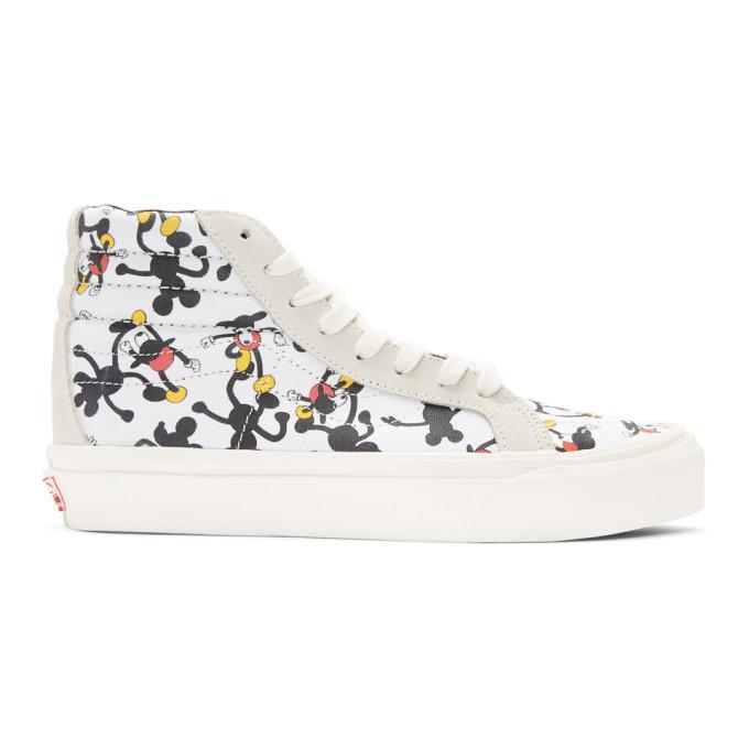 8ec9a7ae83 Vans White Geoff Mcfetridge Edition Og Sk8-Hi Lx High-Top Sneakers ...