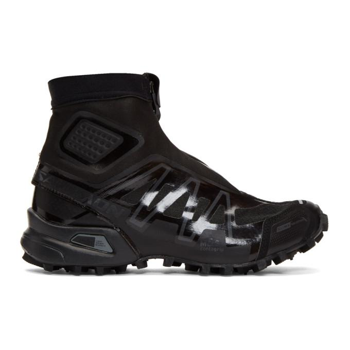 newest f8953 0af8a Salomon Black Snowcross Advanced Ltd Sneakers In Blk Blk Blk