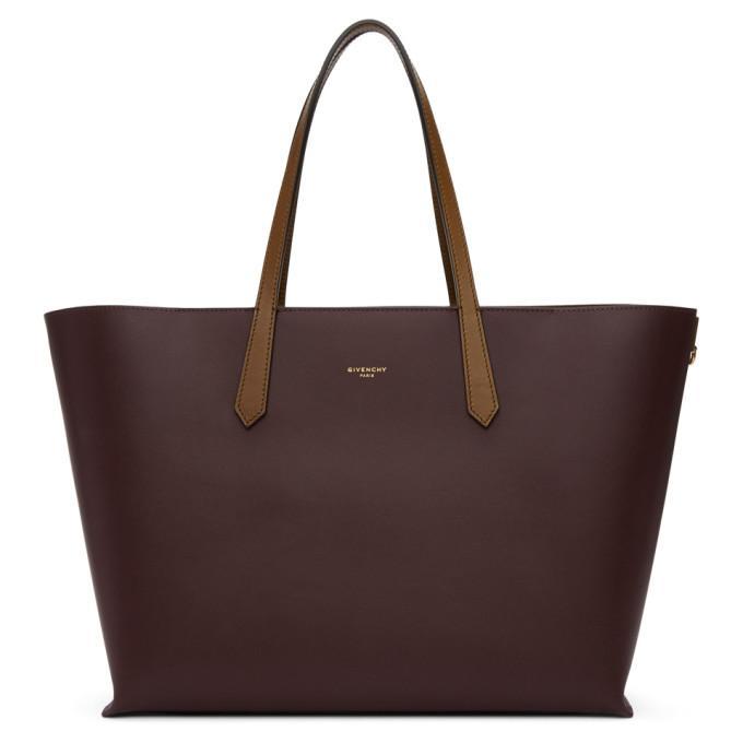 8d4772bdc Givenchy Burgundy Gv Shopper Tote In 542 Aubergi | ModeSens