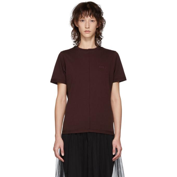 Yang Li Ssense Exclusive Purple Overlock T-shirt In 80 Dk Purpl