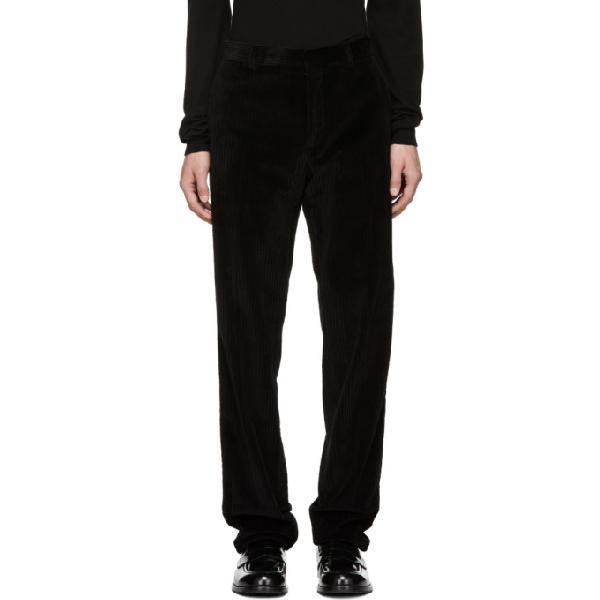 Joseph Black Jumbo Ernest Corduroy Trousers In 0010 Black