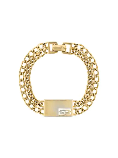 Givenchy Pre-Owned Chain Link Bracelet - Yellow