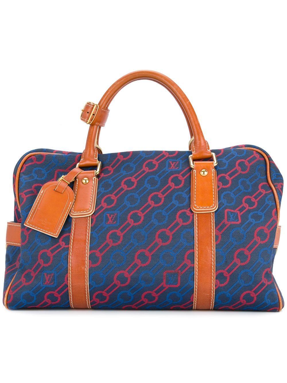 282a3e692e77e Louis Vuitton Vintage Charm Line Travel Bag - Farfetch In Blue ...
