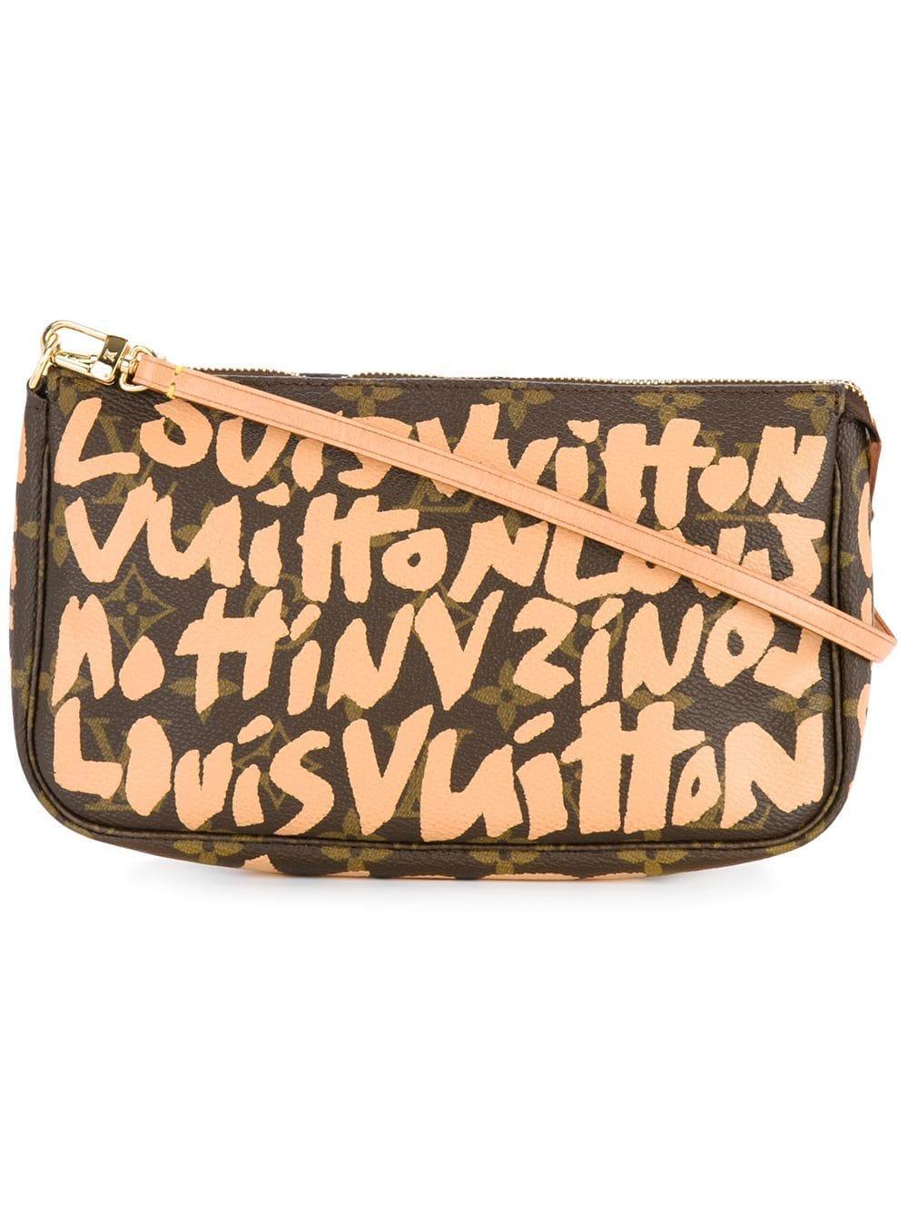 Louis Vuitton Pre-Owned Pochette Accessories Bag - Brown