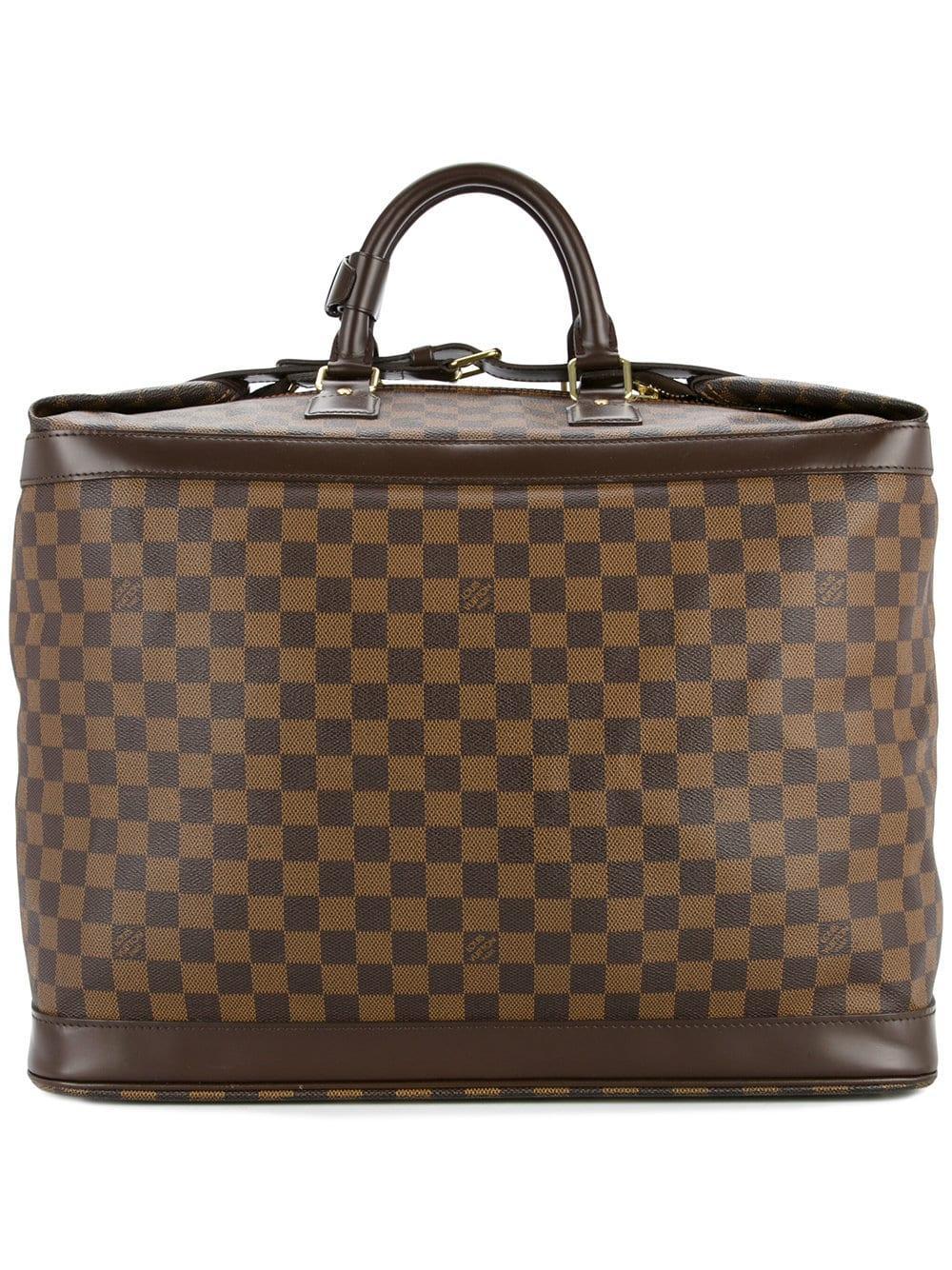10323163fba4d Louis Vuitton Vintage Damier Ebene Luggage Bag - Farfetch In Brown ...