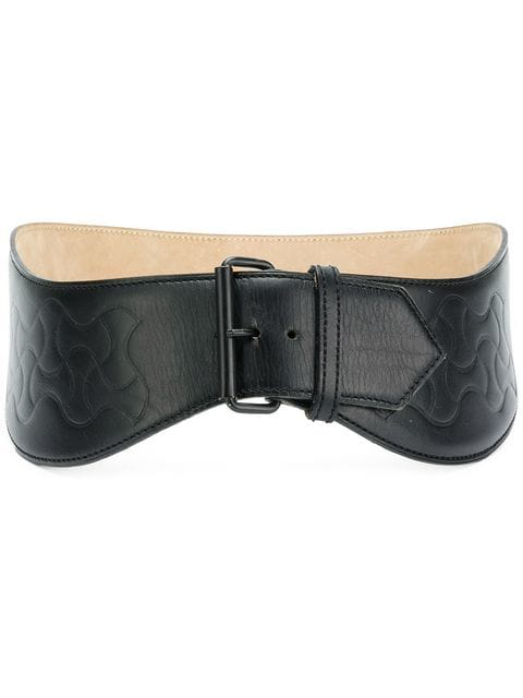 Alaïa Corset-style Belt In Black