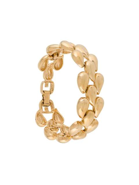 Givenchy Pre-Owned Teardrop Bracelet - Gold