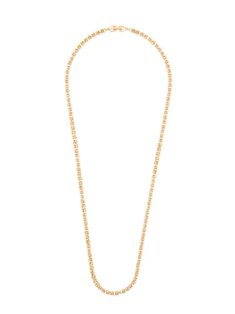 Givenchy Long Chain Necklace In Gold