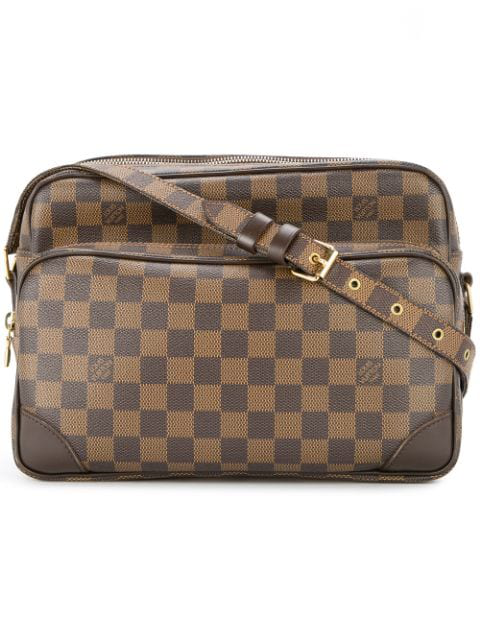 Louis Vuitton Nile Shoulder Bag In Brown
