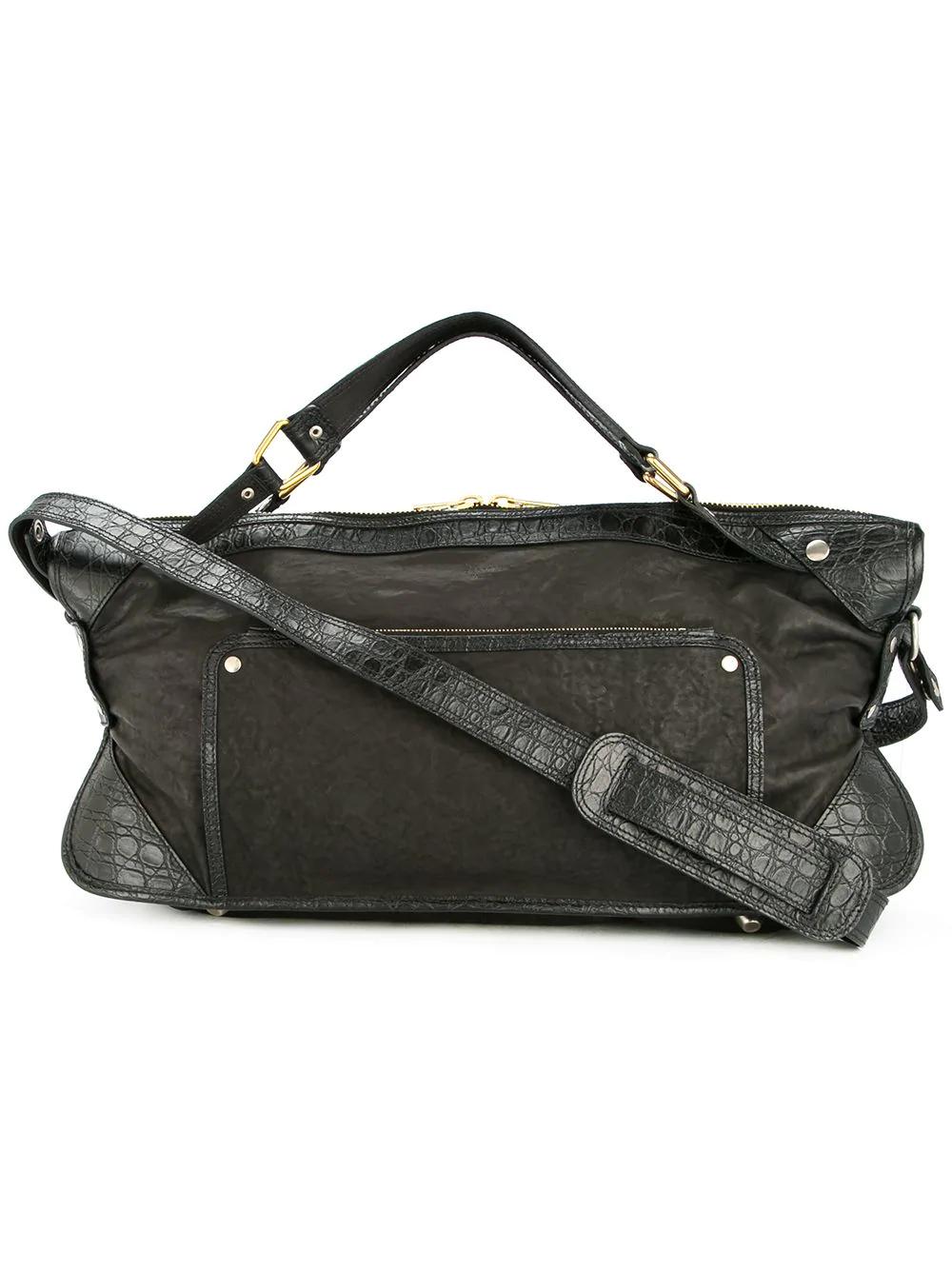 88d72d5f2772 Celine CÉLine Vintage Logos 2Way Hand Bag - Black