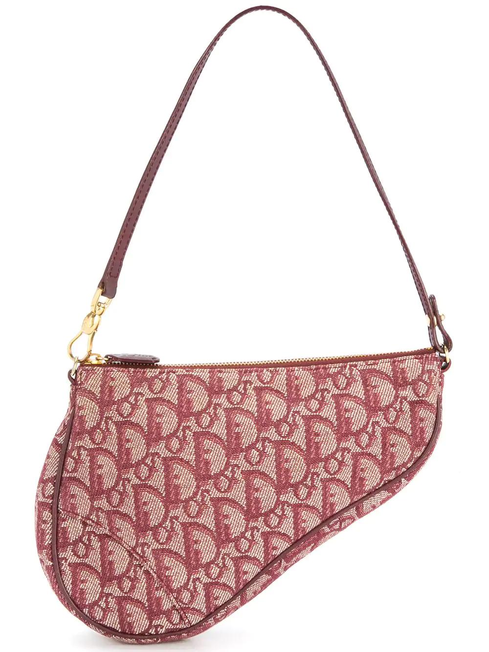91fe8823951c Dior Christian Vintage Saddle Trotter Hand Bag - Red