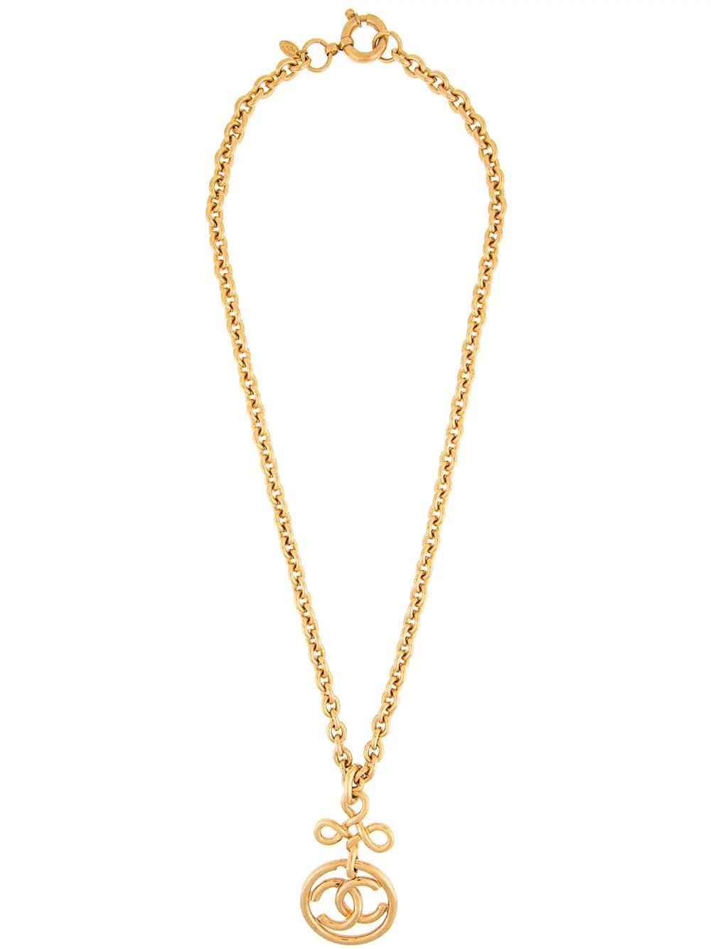 74846916f Chanel Vintage Pendant Necklace Accessories - Metallic | ModeSens