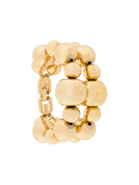 Givenchy Pre-Owned Double Ball Bracelet - Metallic