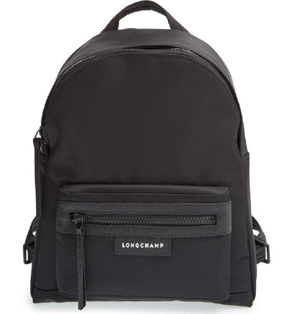 f7f29261e8a7d Longchamp  Small Le Pliage Neo  Nylon Backpack - Black