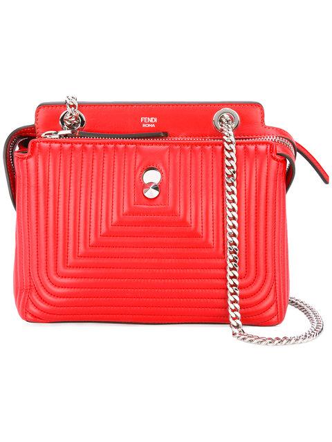4073ae1957a7 Fendi Dotcom Click Shoulder Bag - Red