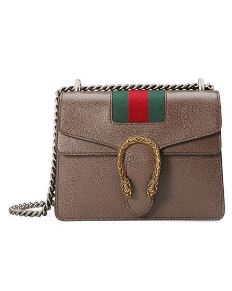 ce9b7def5386 Gucci Dionysus Small Chain Crossbody Bag In Dark Gray | ModeSens