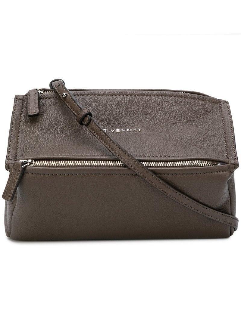 b46fc1bbde3 Givenchy Mini Pandora Shoulder Bag - Grey | ModeSens