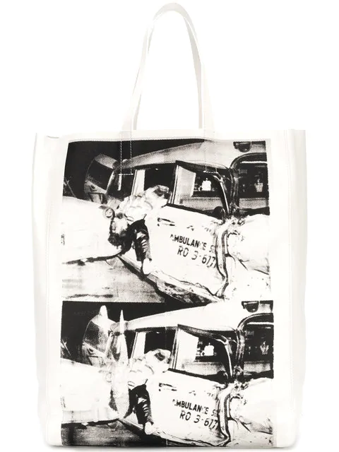 Calvin Klein 205W39Nyc X Andy Warhol Printed Tote Bag  In 912