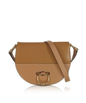 Jw Anderson J.W. Anderson Women's Hb01518D444621 Brown Leather Shoulder Bag