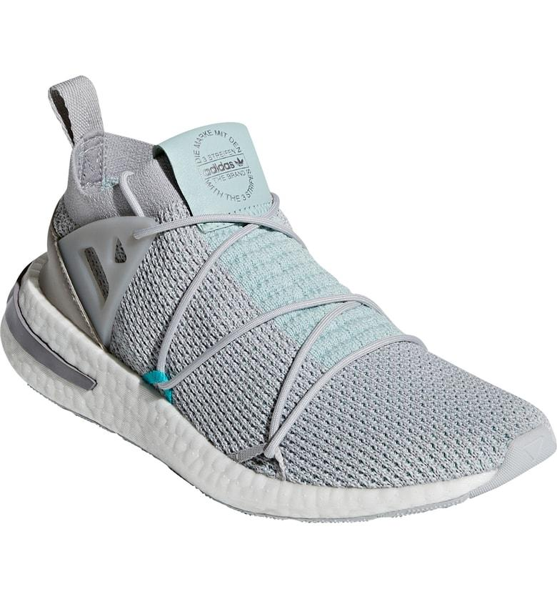 low priced f07ba 89d25 Adidas Originals Arkyn Primeknit Sneaker In Grey Two  Grey Two  Ash Green