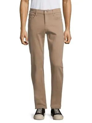 7 For All Mankind Men's Ace Adrien Water Resistant Slim Fit Tech Pants In Khaki