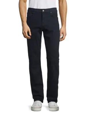 7 For All Mankind Slim-fit Twill In Navy