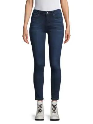 Joe's Stretch Skinny Jeans In Ebony