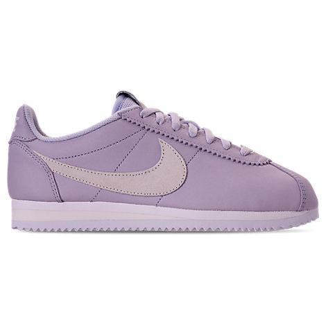 on sale 487f8 fddd7 Nike Women s Classic Cortez 90 Premium Casual Shoes, Purple