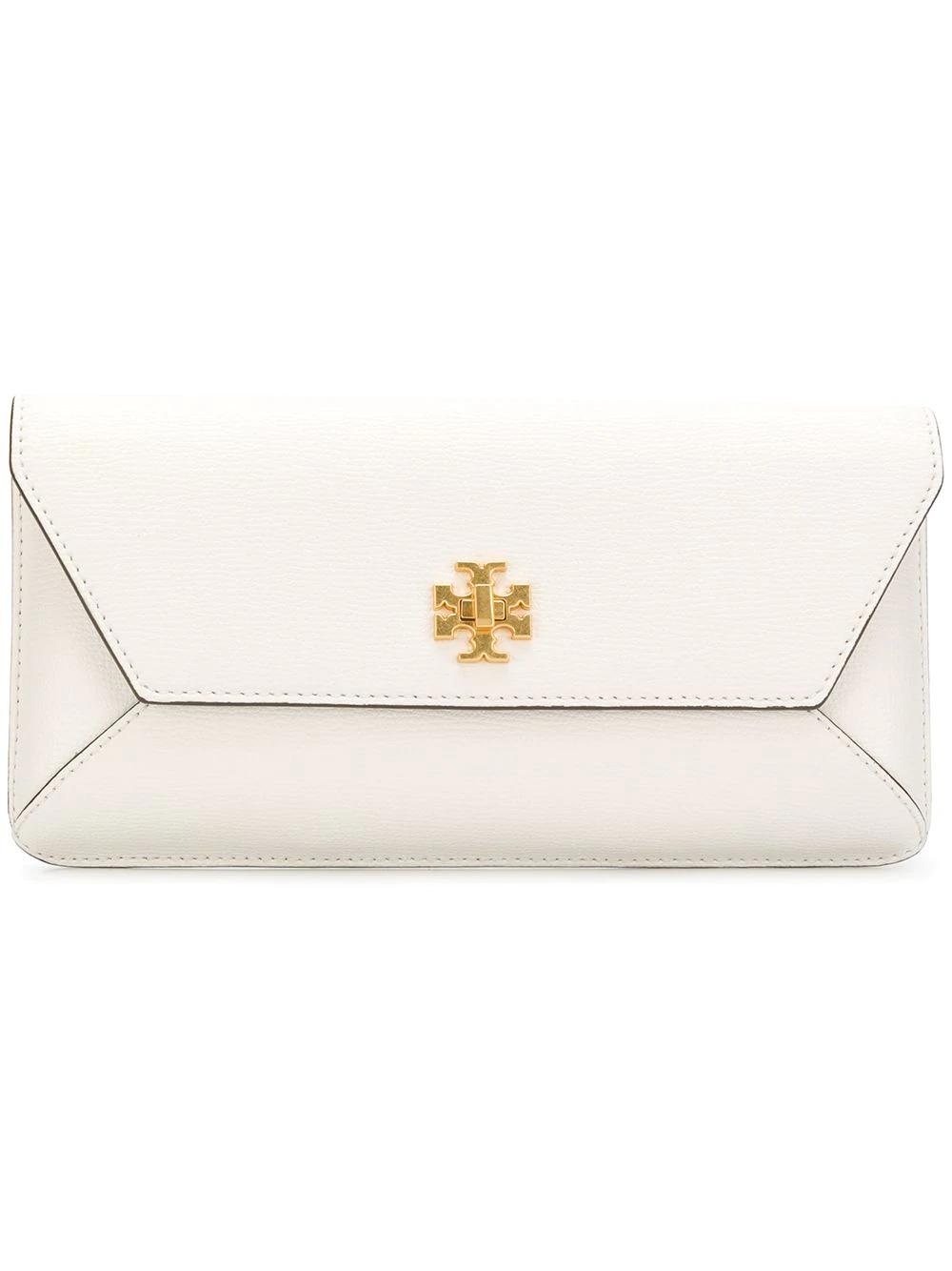 3119a857e5e1 Tory Burch Kira Envelope Clutch - White