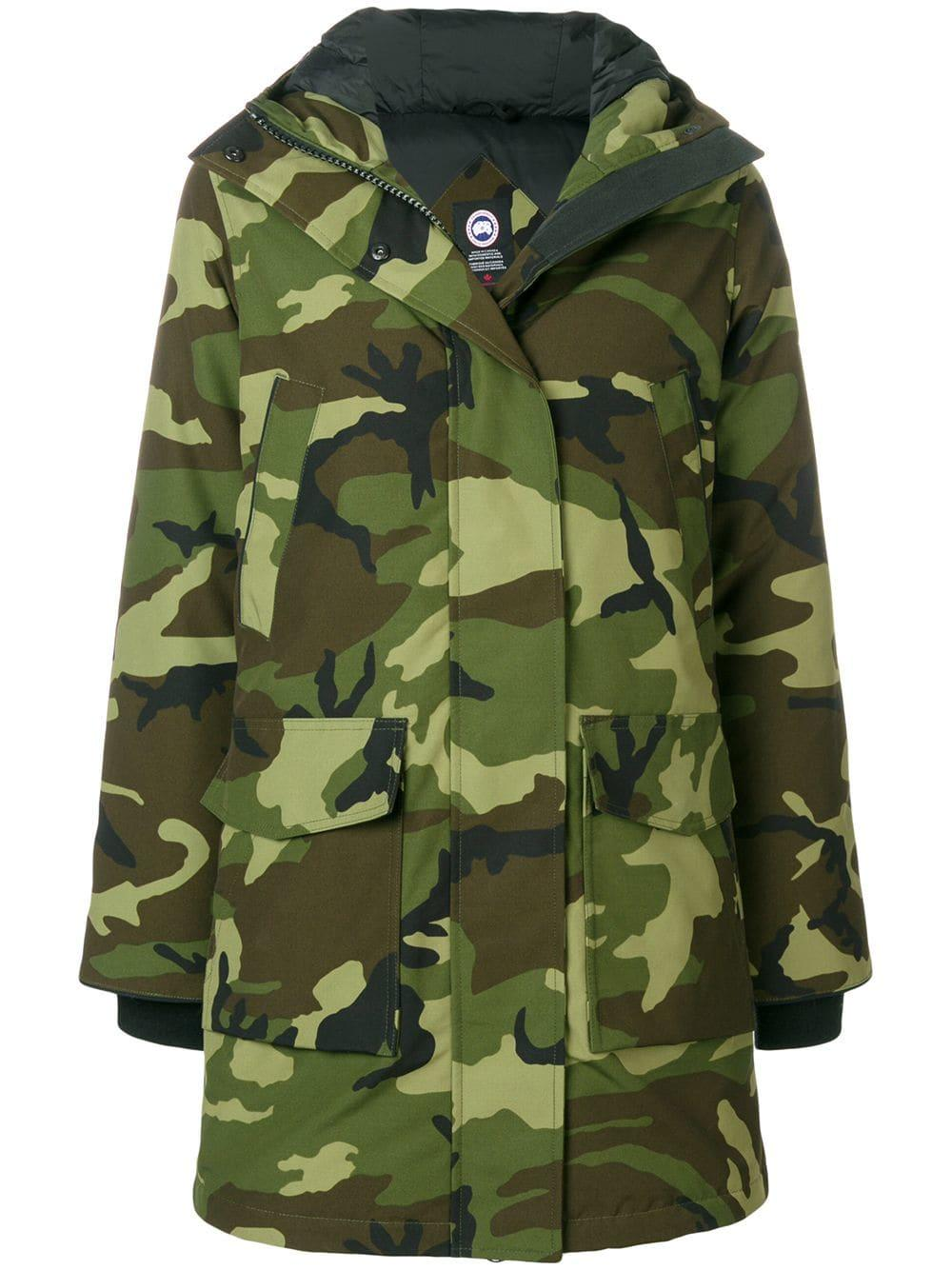 f4dd99cea72ed Canada Goose Padded Camouflage Coat - Green | ModeSens
