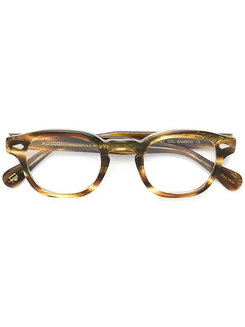Moscot Lemtosh Glasses In Brown