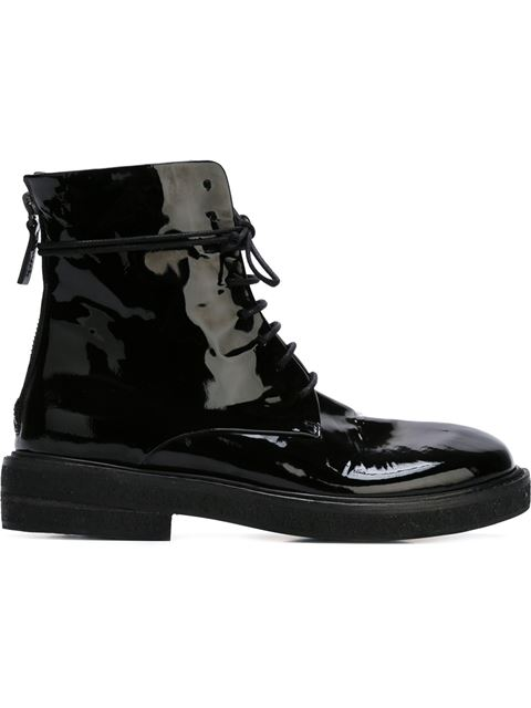 MarsÈLl Lace-Up Boots In Black