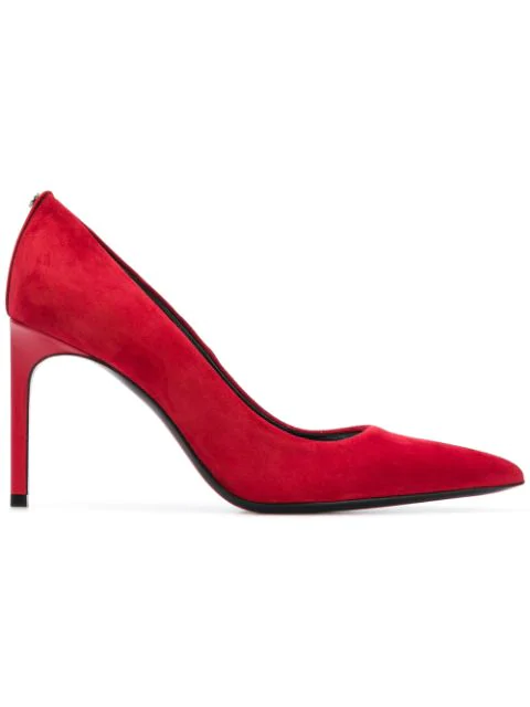 Tom Ford Pointed Toe Pumps In Red