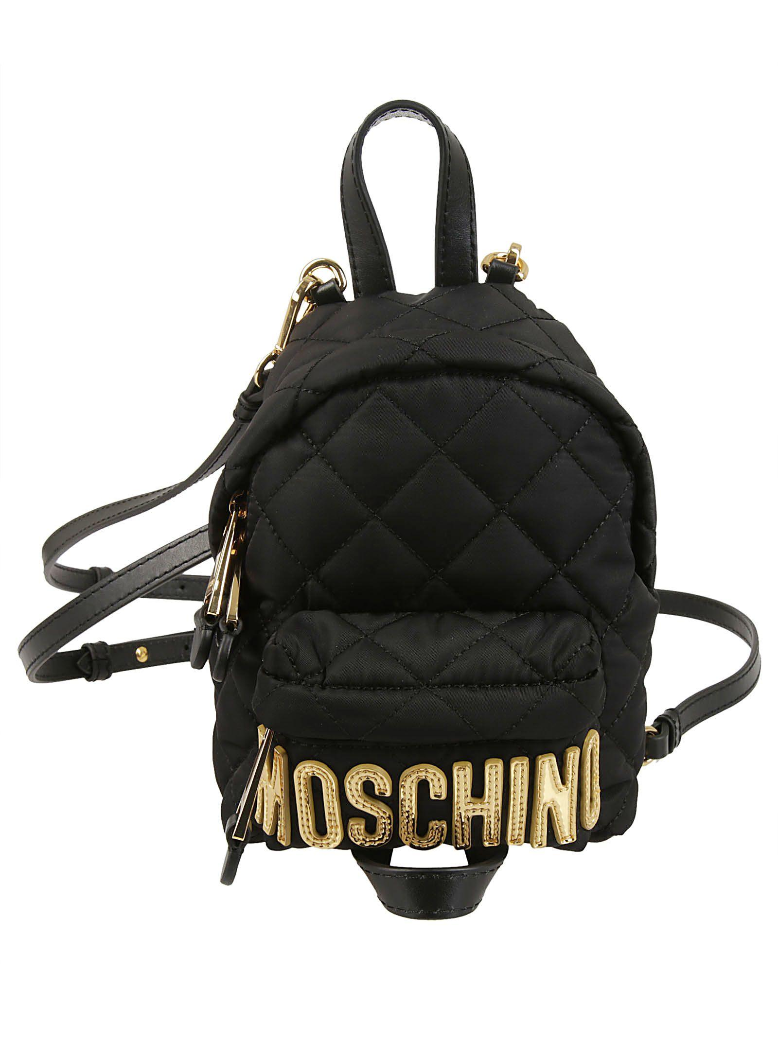 latest trends cheapest popular design MINI QUILTED LOGO BACKPACK